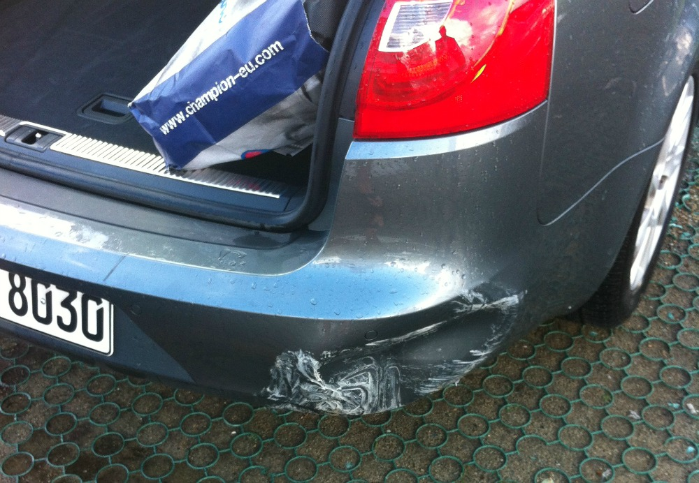 chase sapphire preferred rental car coverage took care of this dent