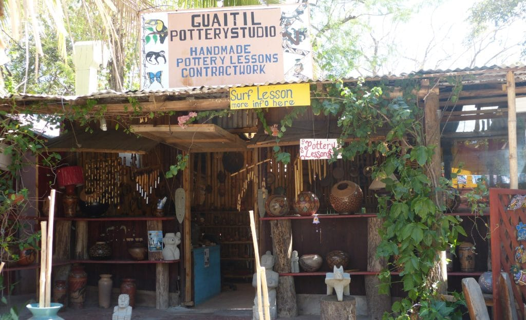 Tamarindo Pottery Lessons at Guaitil Pottery Studio
