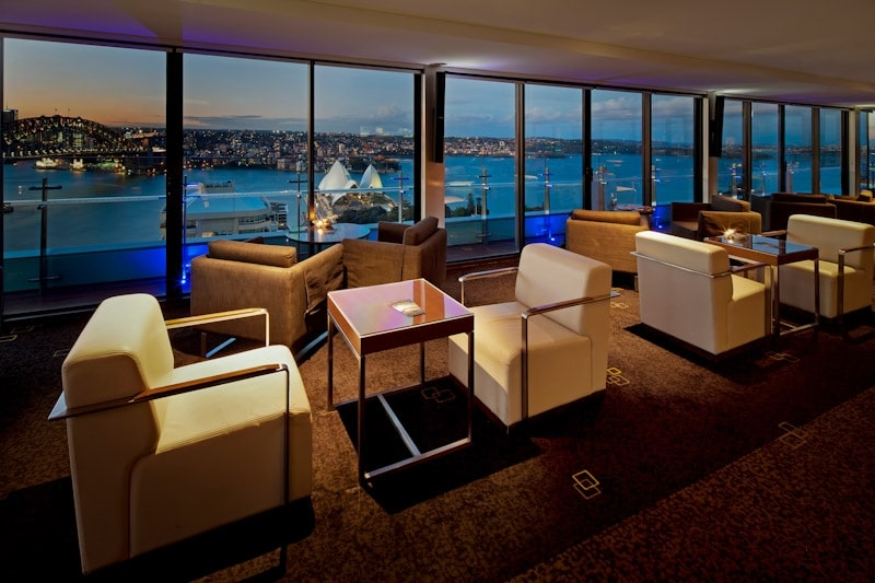 The Lounge at the Intercontinental Sydney