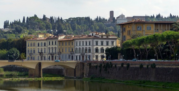 View of Arno River from The St Regis Florence