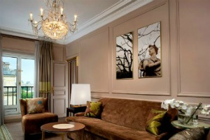 Westin Paris Vendome Presige Suite Living Room