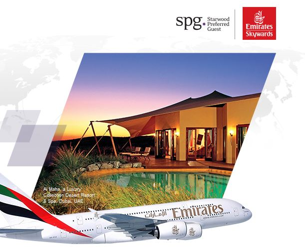 SPG & Emirates: World Rewards w/ SPG & Emirates Skywards