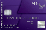 SPG Business Credit Card Benefits