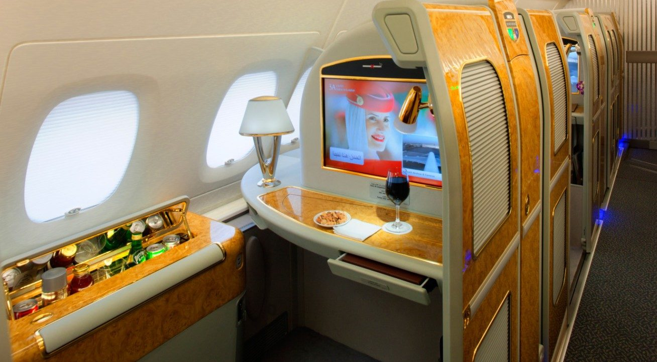 emirates first class cabin still expensive even with an emirates discount code