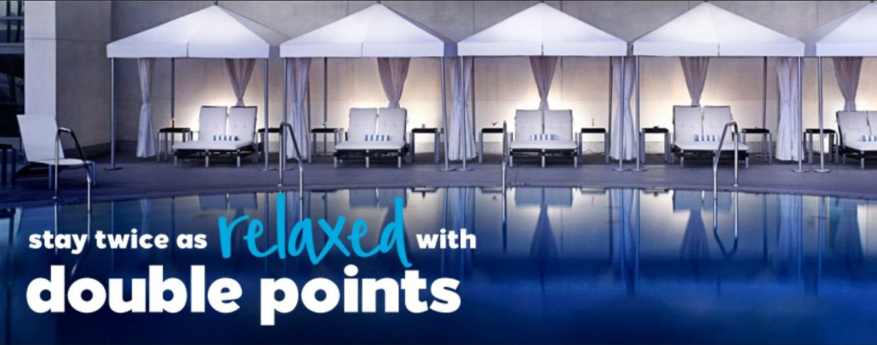 Earn double points with the Hilton Honors Fall 2017 promotion