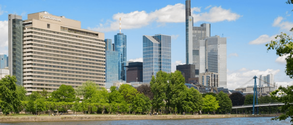 where to stay in frankfurt intercontinental hotel