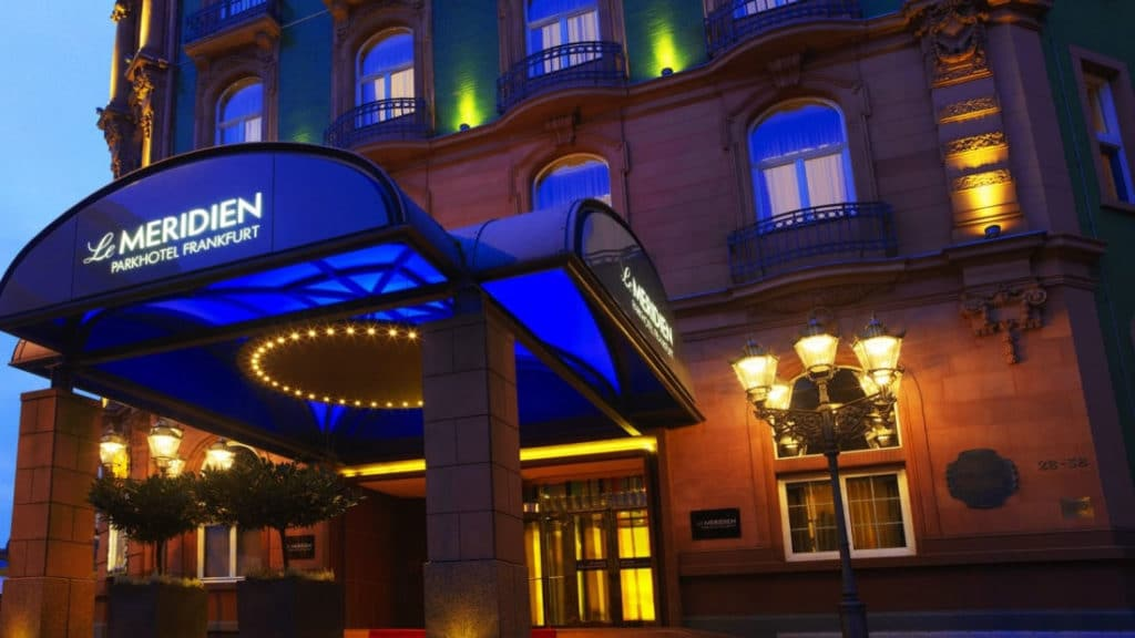 where to stay in Frankfurt germany le meridien