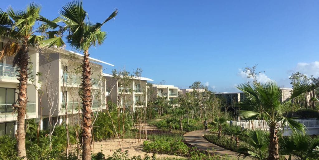 Andaz Mayakoba Lagoon View Buildings