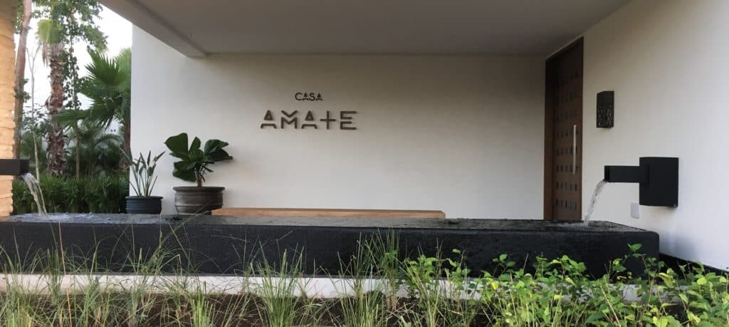 Casa Amate Entrance Andaz Mayakoba