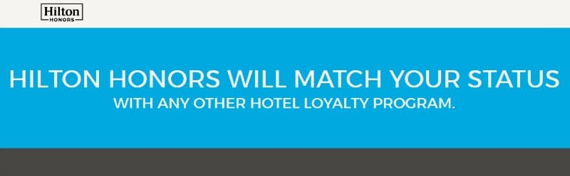Hilton Diamond Status Match