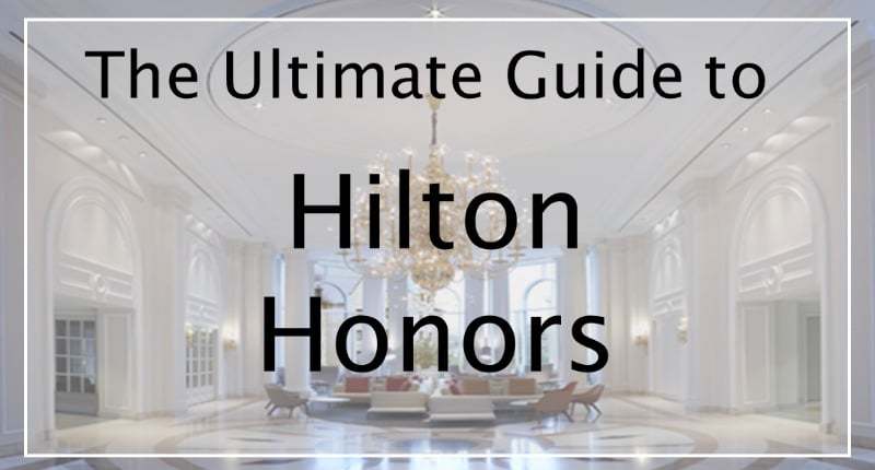 Hilton Honors Levels and benefits