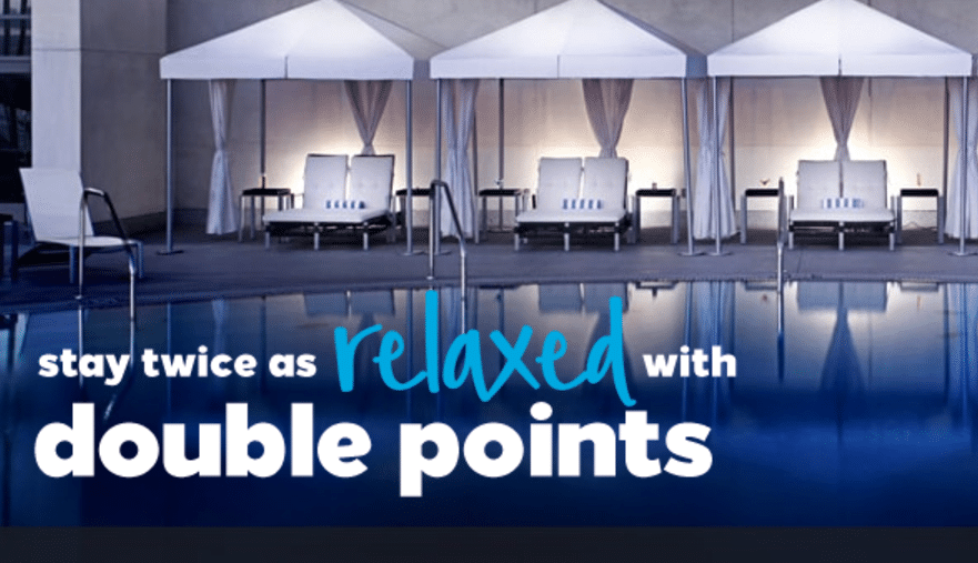 Hilton Honors Fall 2017 Promotion - Double Up! 2
