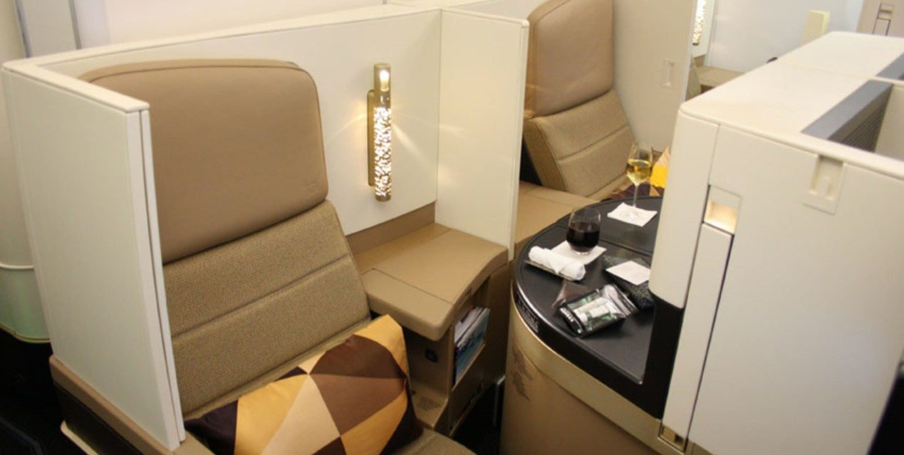 use a Etihad promo code to save a little on that business class seat!