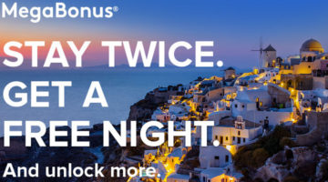 Marriott MegaBonus Fall 2017 Promotion