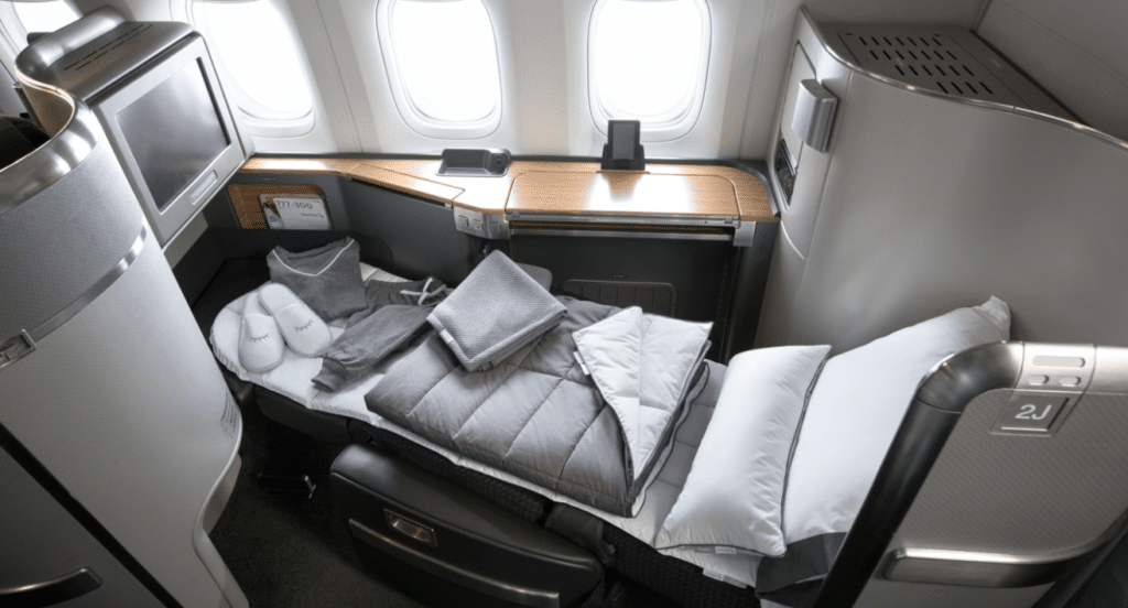 american airlines first class seating