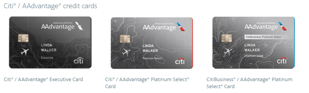 American Airlines Co-Branded Credit Cards