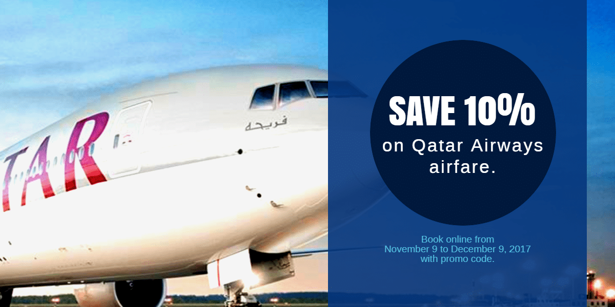 Qatar Airways Global Sale and Promotion December 2017