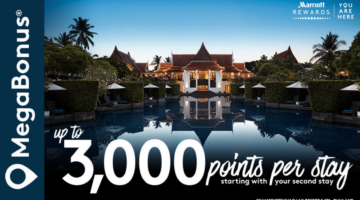 Marriott Rewards MegaBonus Promotion Q1 2018