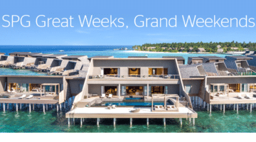 Starwood Promotion Q1 2018 – Great Weeks, Great Weekends
