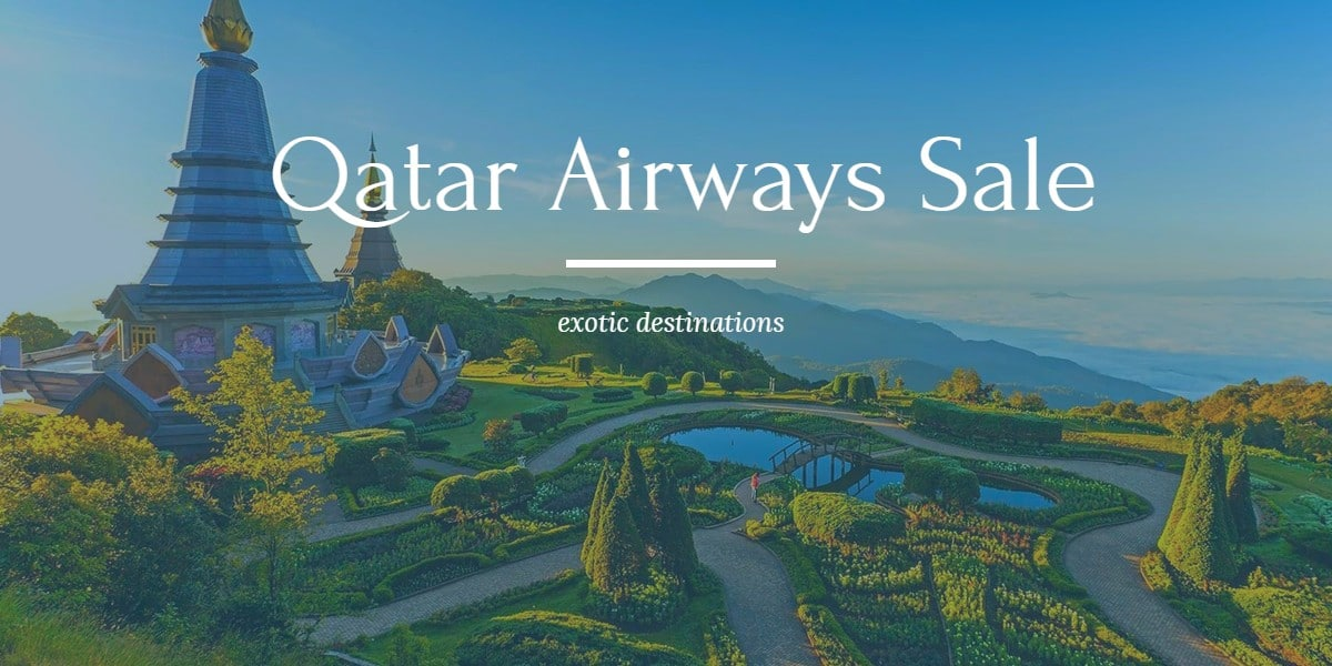 Qatar Airways Promo Code UK