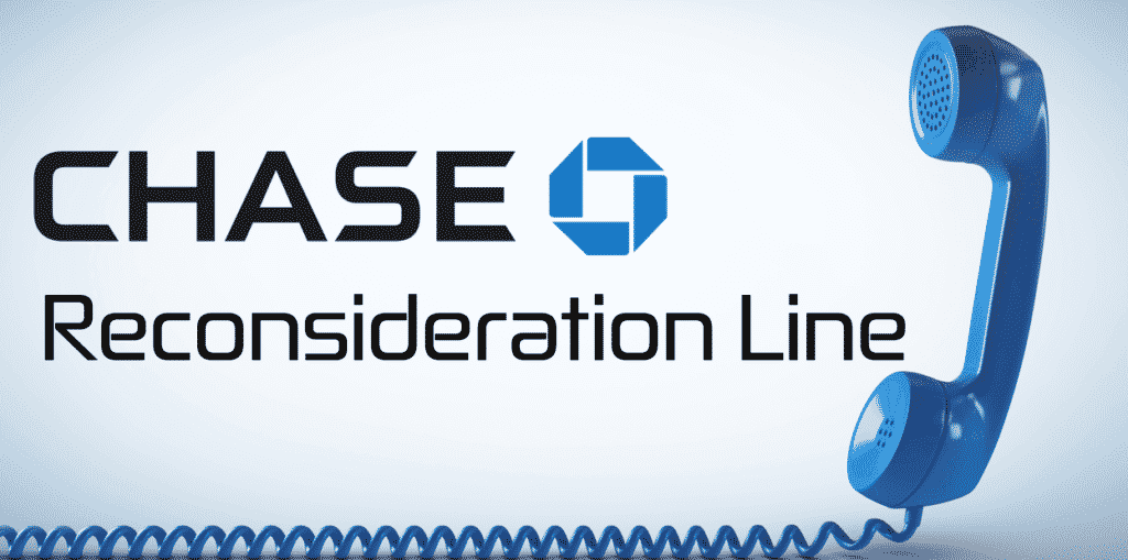 chase reconsideration line phone number