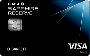Chase Sapphire Reserve best travel rewards card