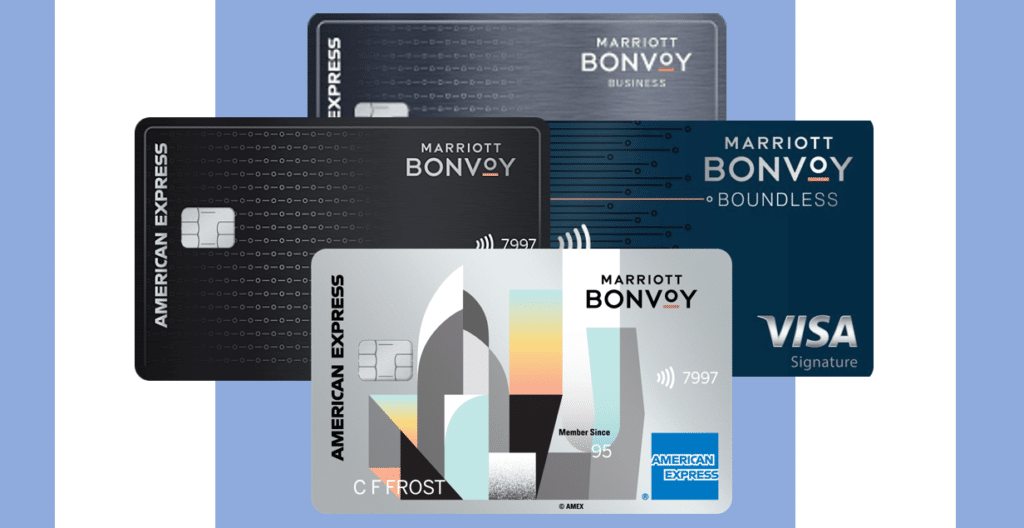 Marriott Bonvoy Co Branded Credit Cards from Chase and American Express