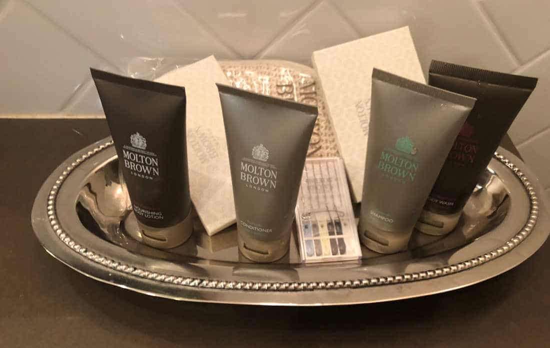 Molton Brown Bath Amenities Hotel Yountville