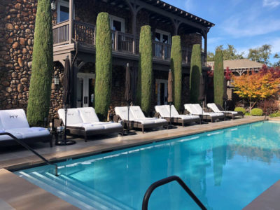 Hotel Yountville Review Pool