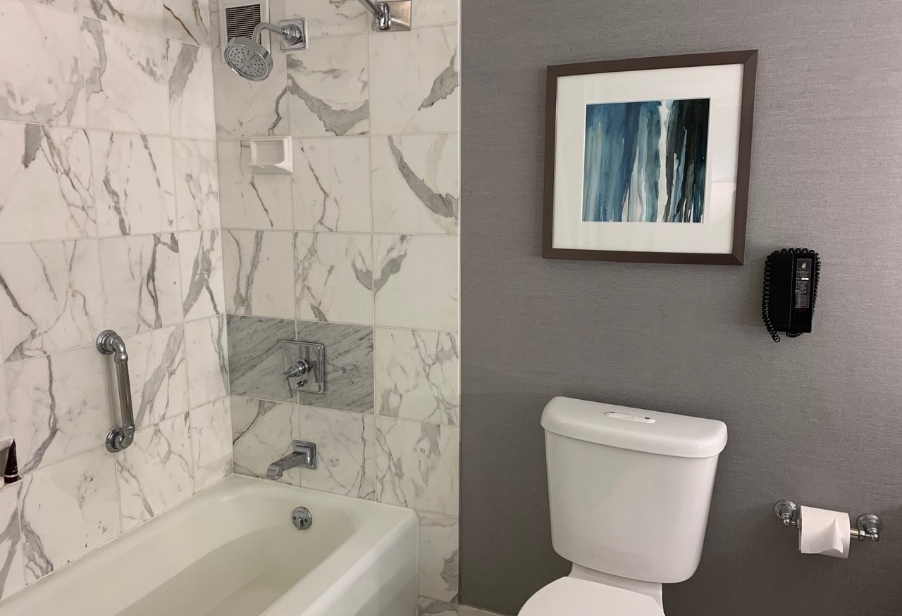 The ritz carlton marina del rey review bathroom