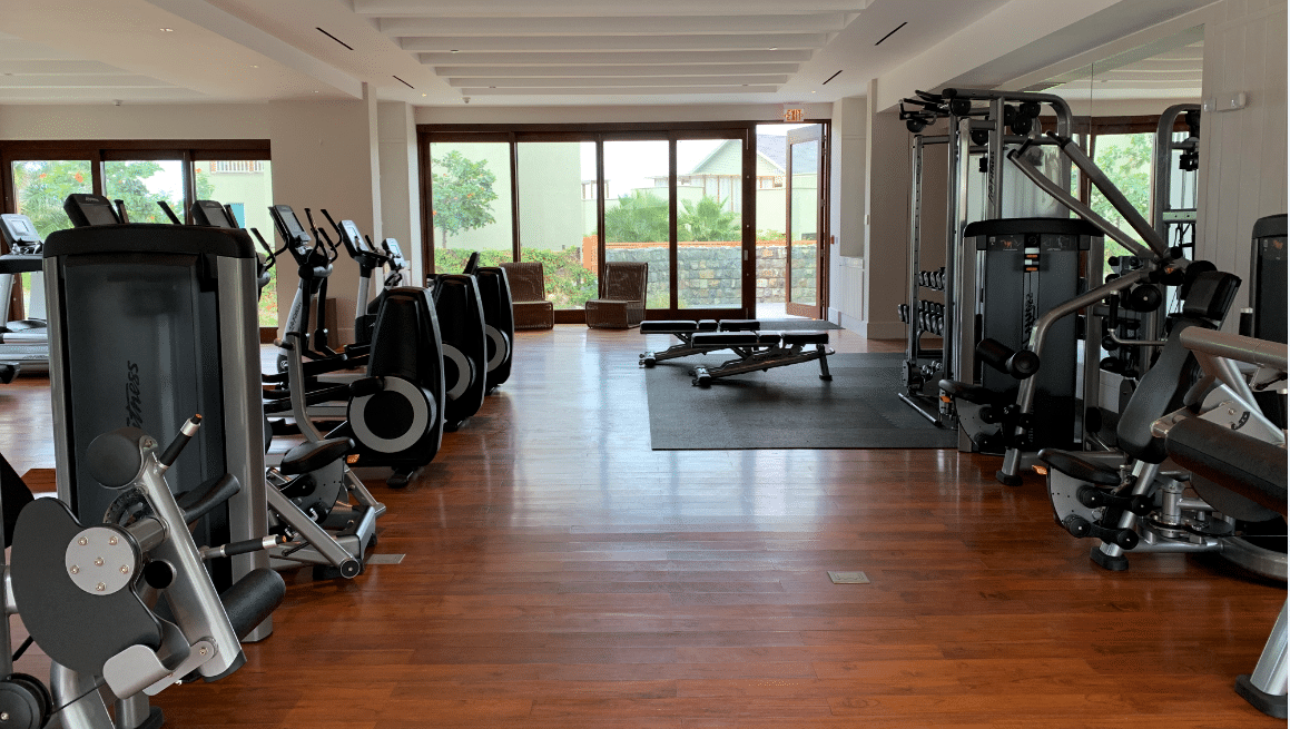 Park Hyatt St Kitts Miraval Spa Weight Room