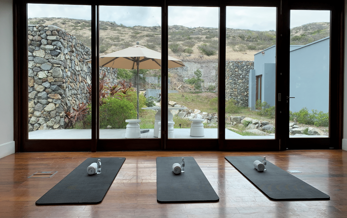Park hyatt st kitts Miraval Spa Yoga and Meditation area
