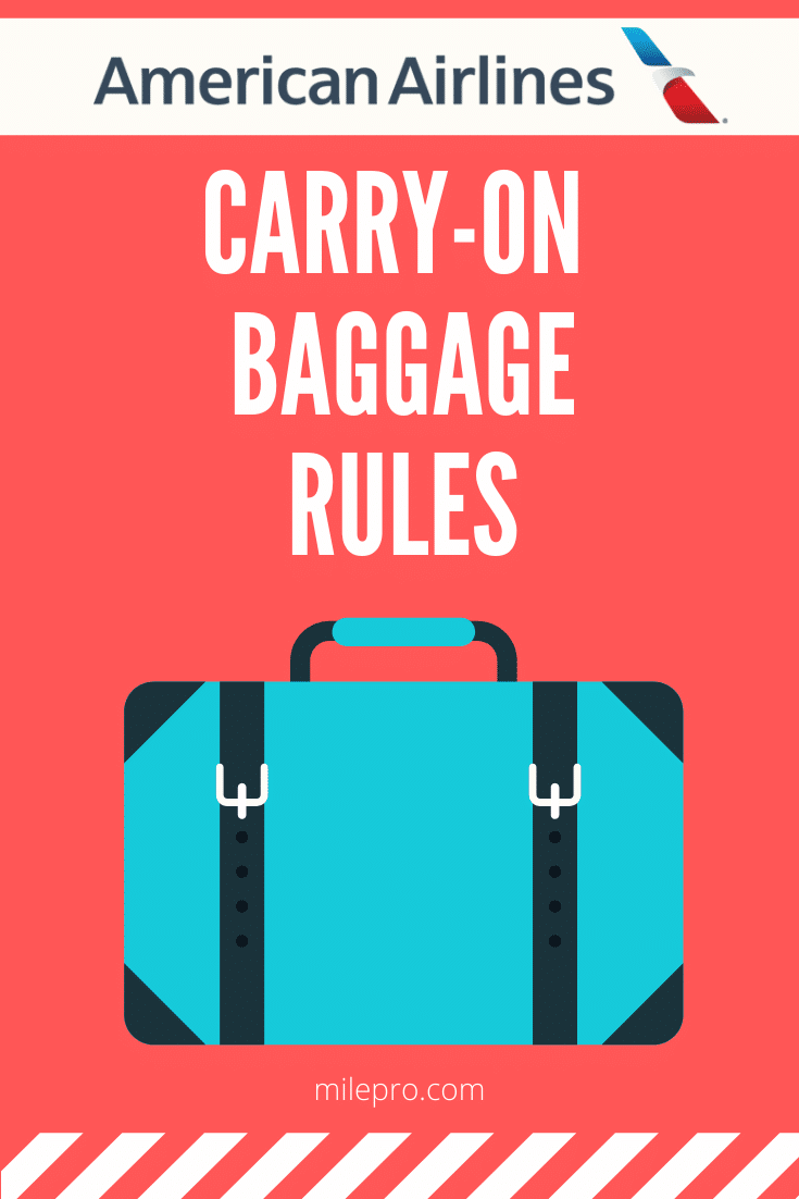 American Carry On Rules
