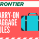 Frontier Airlines Carry-On Rules: Everything Need to Know 2