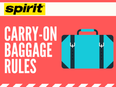 Spirit Airlines Carry-On Rules: Everything Need to Know 2