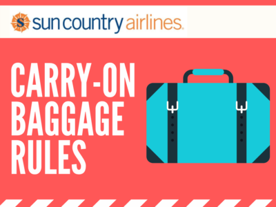 Sun Country Airlines Carry-On Rules: Everything Need to Know 2