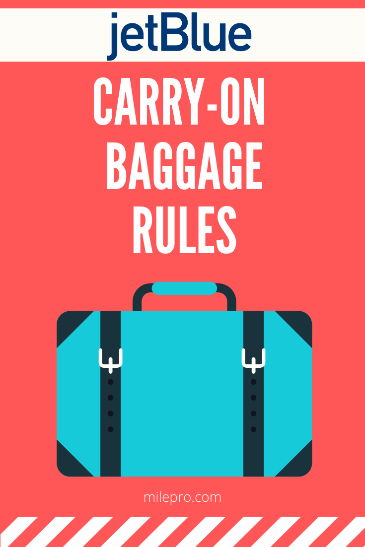 jetBlue Carry-On Rules