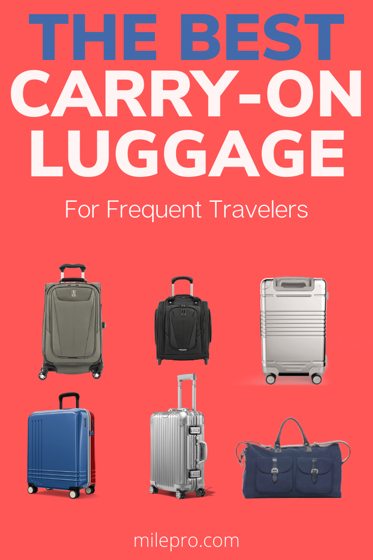 best carry on luggage frequent traveler
