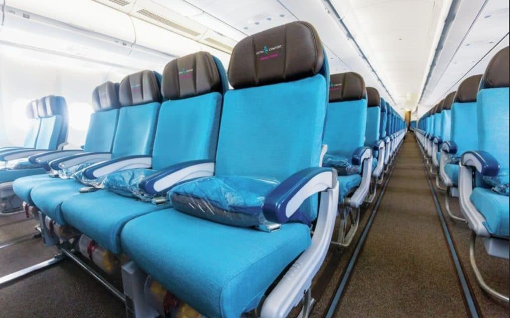 Hawaiian Airlines Extra Comfort Seating A330