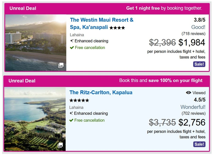 Hawaiian Airlines Vacation Package Deals Maui