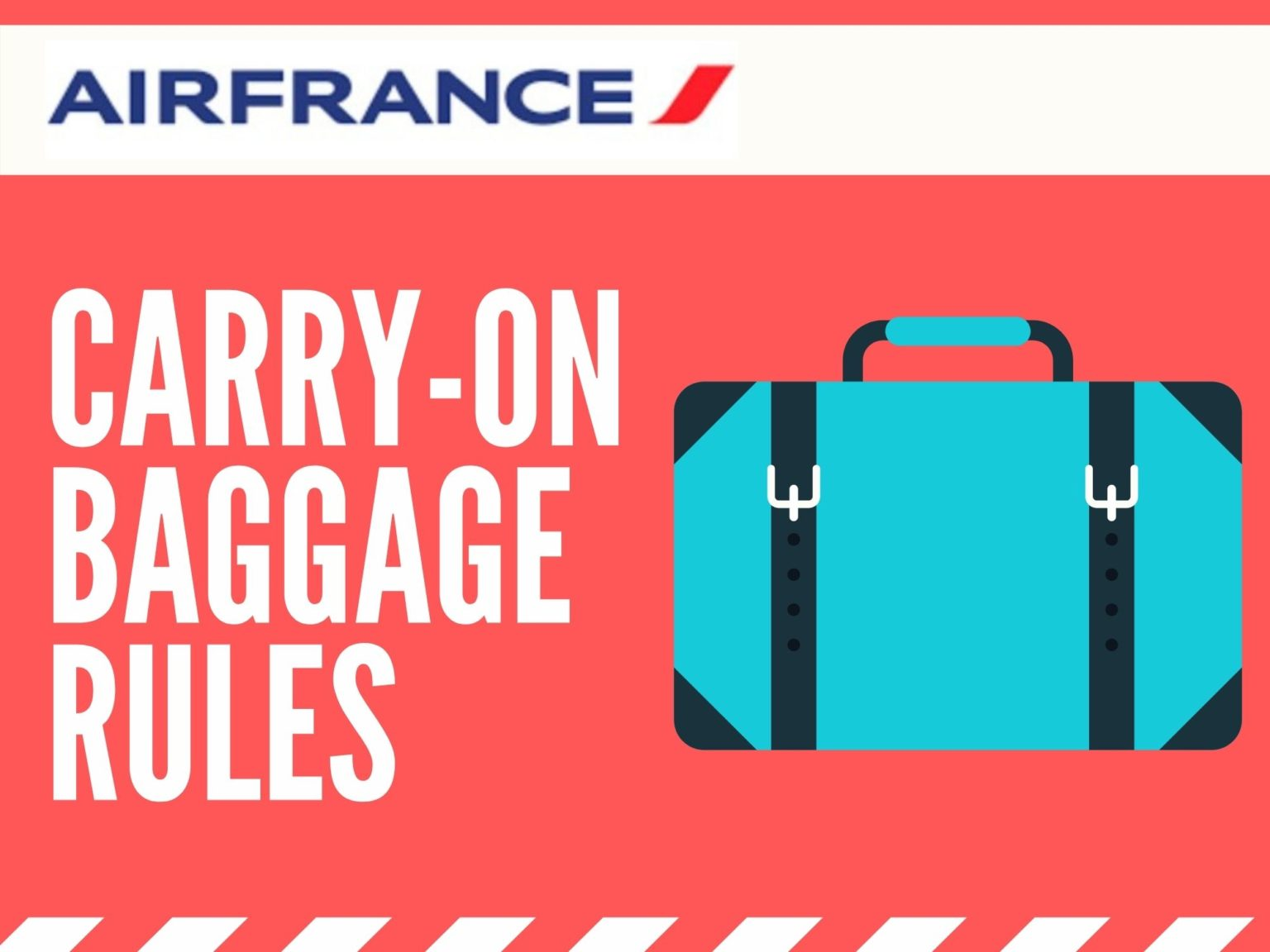 Air France Carry On Rules: Everything You Need to Know 1