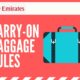 Emirates Carry On Rules: Everything you need to know