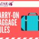 Qatar Airways Carry On Rules: Everything You Need to Know