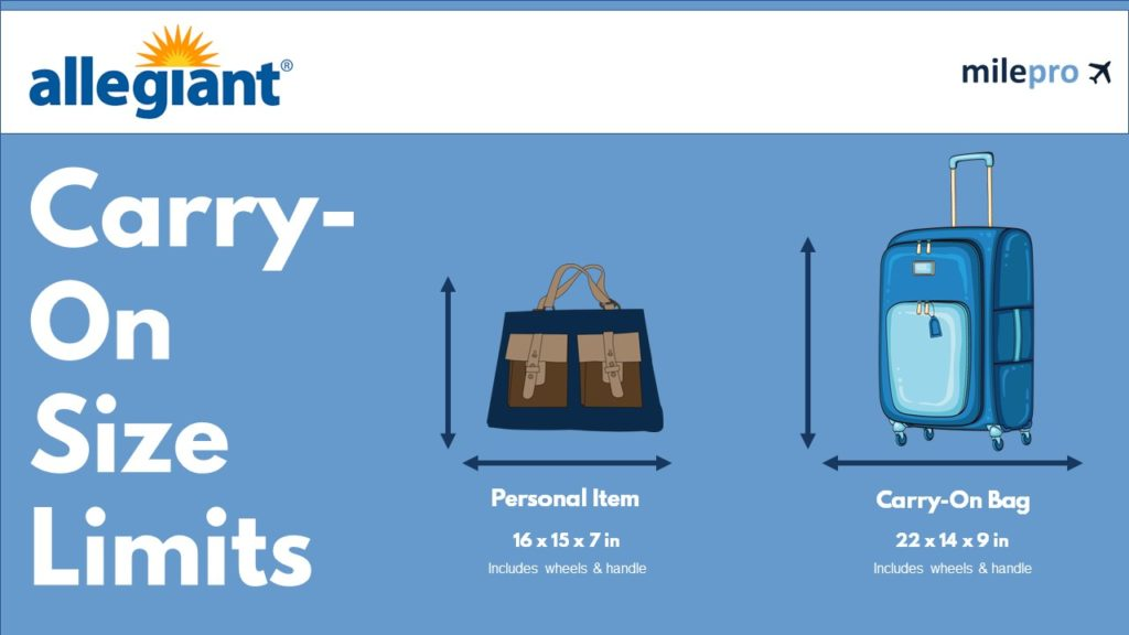 Allegiant Airlines Carry-On Size Limit