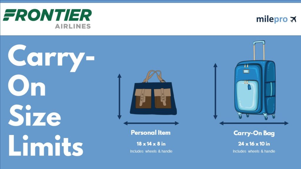 Frontier Airline Carry-On Size Limits