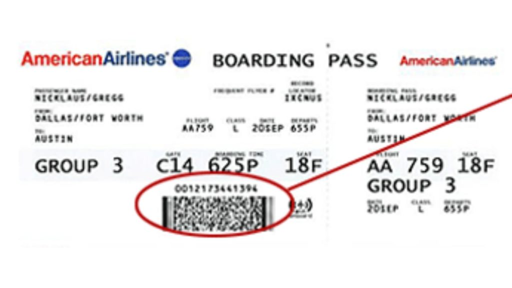 American Airlines Ticket Number
