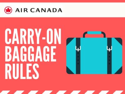 Air Canada Carry On Rules Size