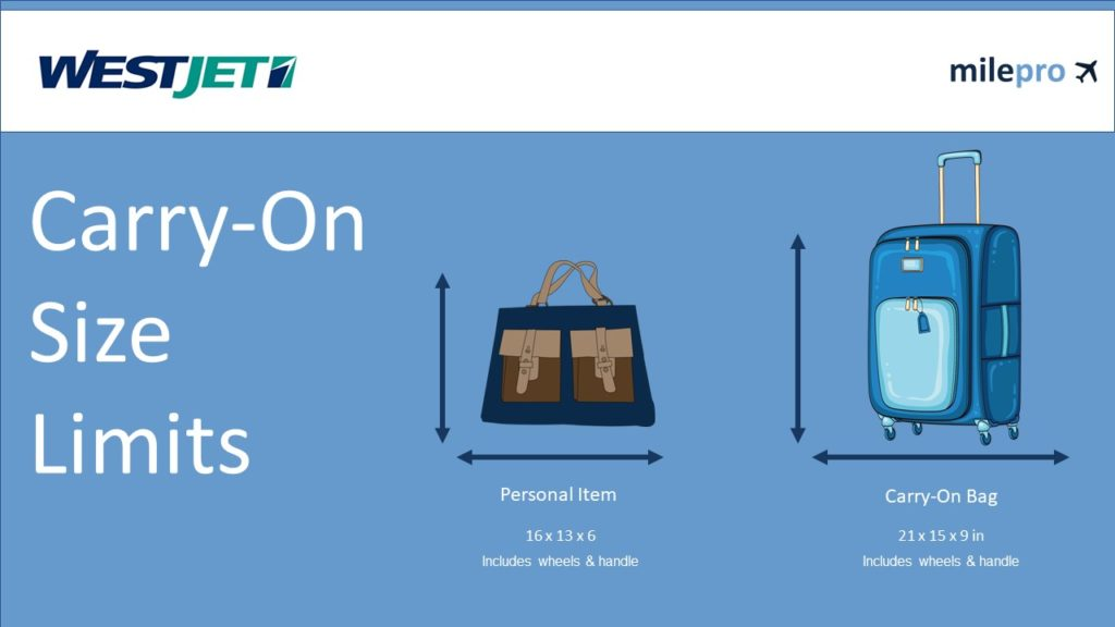 Westjet Airline Carry-On Size Rules