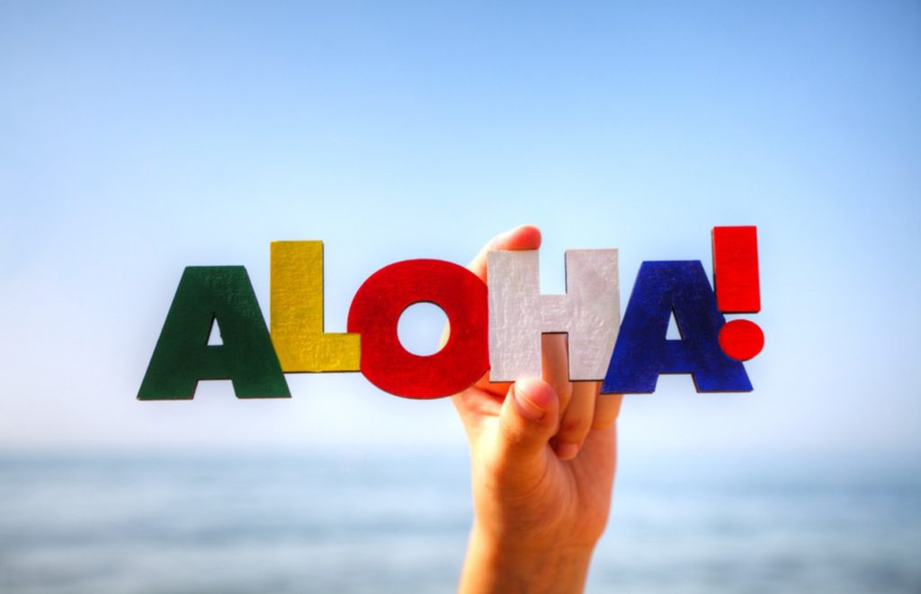 What does Aloha mean?